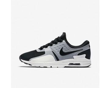 Chaussure Nike Air Max Zero Pour Femme Lifestyle Blanc/Noir_NO. 857661-102