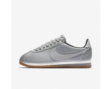 Chaussure Nike Classic Cortez Leather Lux Pour Femme Lifestyle Argent Mat/Voile/Gomme Marron/Argent Mat_NO. 861660-003
