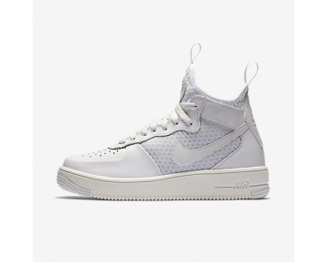 Chaussure Nike Air Force 2 Ultraforce Mid Pour Femme Lifestyle Blanc Sommet/Platine Pur/Blanc Sommet_NO. 864025-100