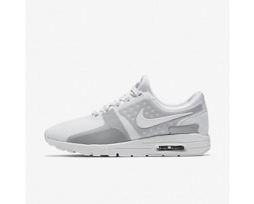 Chaussure Nike Air Max Zero Si Pour Femme Lifestyle Blanc/Gris Loup/Argent Réfléchissant/Blanc_NO. 881173-100