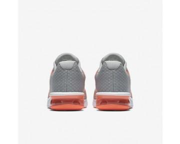 Chaussure Nike Air Max Sequent 2 Pour Femme Lifestyle Gris Loup/Mangue Brillant/Crépuscule Brillant/Blanc_NO. 852465-005