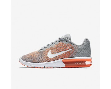 Chaussure Nike Air Max Sequent 2 Pour Femme Lifestyle Gris Loup/Mangue Brillant/Crépuscule Brillant/Blanc_NO. 852465-005