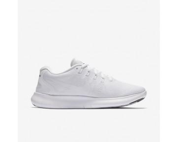 Chaussure Nike Free Rn 2017 Pour Femme Running Blanc/Noir/Platine Pur/Blanc_NO. 880840-100