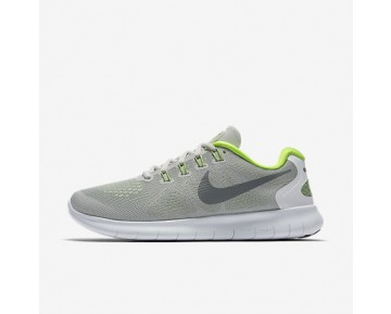 Chaussure Nike Free Rn 2017 Pour Femme Running Gris Loup/Platine Pur/Volt/Gris Froid_NO. 880840-004