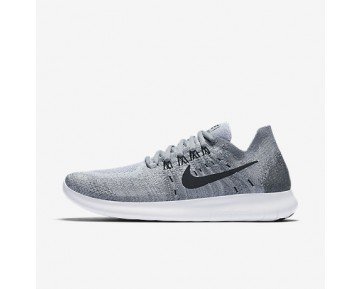 Chaussure Nike Free Rn Flyknit 2017 Pour Femme Running Gris Loup/Anthracite/Gris Froid/Noir_NO. 880844-002