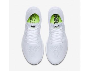 Chaussure Nike Free Rn Flyknit 2017 Pour Femme Running Blanc/Platine Pur/Noir/Blanc_NO. 880844-100