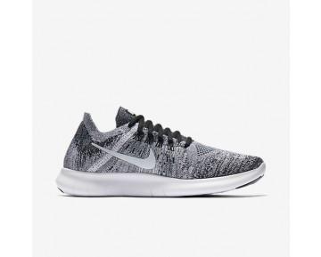 Chaussure Nike Free Rn Flyknit 2017 Pour Femme Running Noir/Volt/Blanc_NO. 880844-003