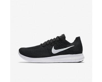 Chaussure Nike Free Rn Flyknit 2017 Pour Femme Running Noir/Noir/Gris Foncé/Blanc_NO. 880844-001