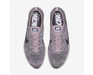 Chaussure Nike Flyknit Racer Pour Femme Running Violet Clair/Brume Prune/Blanc/Raisin Sec Foncé_NO. 526628-500