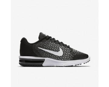 Chaussure Nike Air Max Sequent 2 Pour Femme Running Noir/Gris Foncé/Gris Loup/Blanc_NO. 852465-002