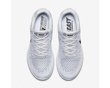 Chaussure Nike Lunarepic Low Flyknit 2 Pour Femme Running Blanc/Platine Pur/Gris Loup/Noir_NO. 863780-100
