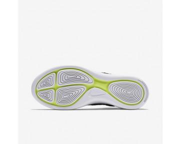 Chaussure Nike Lunarepic Flyknit Pour Femme Running Noir/Anthracite/Volt/Blanc_NO. 818677-007