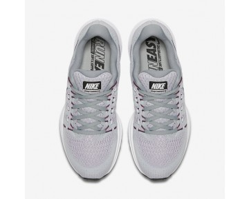 release date ac6d8 acbb2 Chaussure Nike Air Zoom Vomero 12 Pour Femme Running Platine Pur Gris Loup  Orchidée
