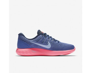 the latest 2efff 8961c Chaussure Nike Lunarglide 8 Pour Femme Running Bleu Lune Rose  Coureur Marine Arsenal