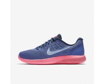 Chaussure Nike Lunarglide 8 Pour Femme Running Bleu Lune/Rose Coureur/Marine Arsenal/Bleu Arsenal Clair_NO. 843726-408