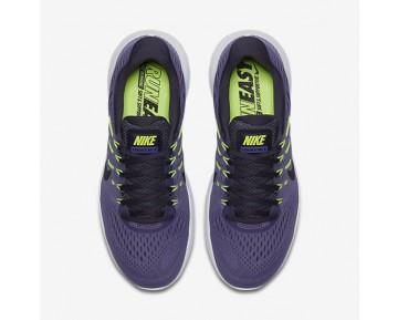 Chaussure Nike Lunarglide 8 Pour Femme Running Violet Terre/Raisin Sec Foncé/Volt/Violet Dynastie_NO. 843726-502