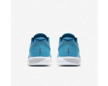 Chaussure Nike Lunarglide 8 Pour Femme Running Bleu Chlorine/Bleu Industriel/Rose Coureur/Bleu Glacier_NO. 843726-405