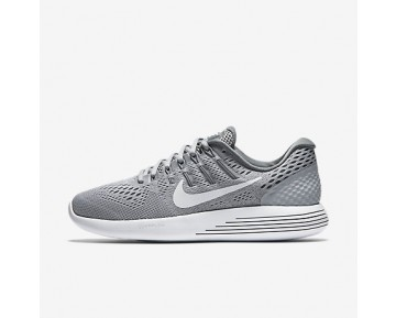 Chaussure Nike Lunarglide 8 Pour Femme Running Gris Loup/Gris Froid/Blanc_NO. 843726-002