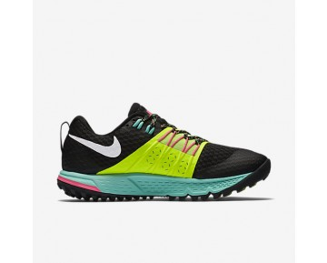 Chaussure Nike Air Zoom Wildhorse 4 Pour Femme Running Noir/Volt/Hyper Turquoise/Blanc_NO. 880566-007