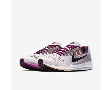 Chaussure Nike Air Zoom Structure 20 Pour Femme Running Blanc/Baie Véritable/Crépuscule Brillant/Noir_NO. 849577-100