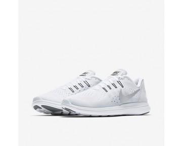 Chaussure Nike Flex 2017 Rn Pour Femme Running Blanc/Platine Pur/Gris Froid/Argent Métallique_NO. 898476-100