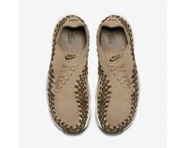 Chaussure Nike Air Footscape Woven Nm Pour Homme Lifestyle Kaki/Kaki Cargo/Voile/Olive Moyen_NO. 875797-200