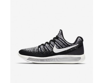 Chaussure Nike Lab Gyakusou Lunarepic Low Flyknit 2 Pour Femme Running Noir/Renard Bleu/Voile_NO. 880287-001