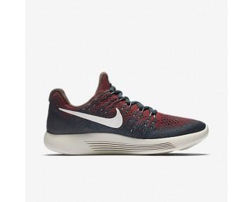 Chaussure Nike Lab Gyakusou Lunarepic Low Flyknit 3 Pour Femme Running Renard Bleu/Rouge Université/Noir/Voile_NO. 880287-400