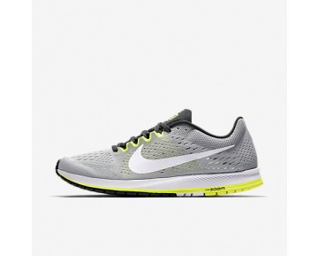 Chaussure Nike Zoom Streak 6 Pour Femme Running Gris Loup/Anthracite/Volt/Blanc_NO. 831413-007
