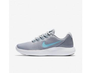 Chaussure Nike Lunarconverge Pour Femme Running Gris Loup/Discret/Noir/Bleu Polarisé_NO. 852469-007