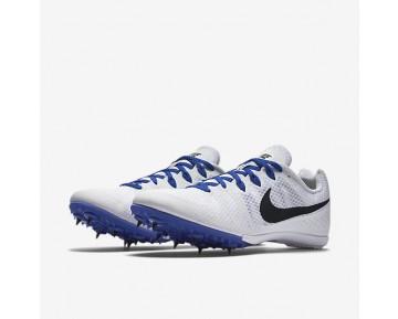 Chaussure Nike Zoom Rival M 8 Pour Femme Running Blanc/Bleu Coureur/Noir_NO. 806555-100