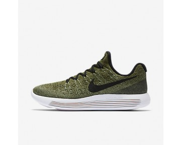Chaussure Nike Lunarepic Low Flyknit 2 Pour Femme Running Vert Feuille De Palmier/Vert Vapeur/Vert Brut/Noir_NO. 863780-300