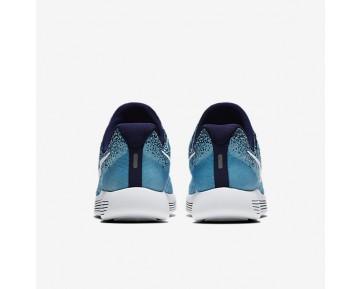 Chaussure Nike Lunarepic Low Flyknit 2 Pour Femme Running Bleu Binaire/Bleu Polarisé/Bleu Chlorine/Blanc_NO. 863780-402