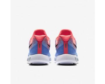 Chaussure Nike Lunarepic Low Flyknit 2 Pour Femme Running Rouge Cocktail/Aluminium/Bleu Université/Noir_NO. 863780-600
