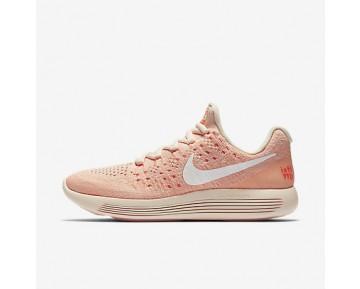 Chaussure Nike Lunarepic Low Flyknit 2 Iwd Pour Femme Running Orange Pâle/Hyper Orange/Crépuscule Brillant/Blanc_NO. 881674-801