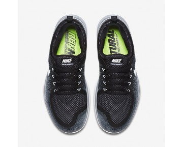 Chaussure Nike Free Rn Distance 2 Pour Femme Running Noir/Gris Froid/Gris Foncé/Blanc_NO. 863776-001