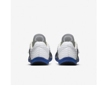 Chaussure Nike Triple Jump Elite Pour Femme Running Blanc/Bleu Coureur/Noir_NO. 705394-100