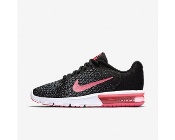 Chaussure Nike Air Max Sequent 2 Pour Femme Running Noir/Anthracite/Gris Froid/Rose Coureur_NO. 852465-006