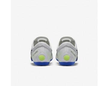 Chaussure Nike Zoom Victory 2 Pour Femme Running Blanc/Bleu Coureur/Noir_NO. 555365-100