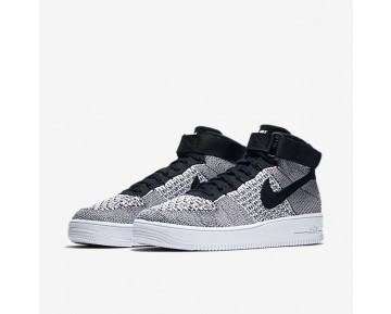 Chaussure Nike Air Force 1 Ultra Flyknit Pour Homme Lifestyle Noir/Blanc/Noir_NO. 817420-005