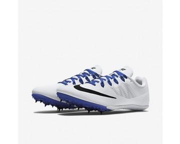 Chaussure Nike Zoom Rival S 8 Pour Femme Running Blanc/Bleu Coureur/Noir_NO. 806554-100