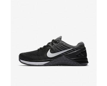 Chaussure Nike Metcon Dsx Flyknit Pour Femme Fitness Et Training Noir/Gris Foncé/Blanc_NO. 849809-005