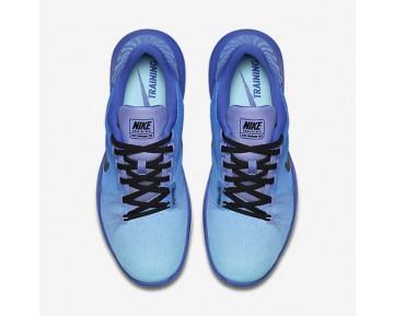 Chaussure Nike Flex Supreme Tr 5 Pour Femme Fitness Et Training Bleu Moyen/Bleu Calme/Chardon Clair/Noir_NO. 898472-400