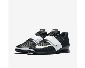 Chaussure Nike Romaleos 3 Pour Femme Fitness Et Training Noir/Blanc_NO. 878557-001