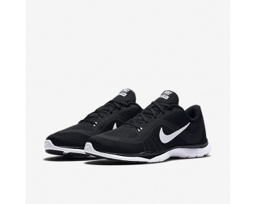 Chaussure Nike Flex Trainer 6 Pour Femme Fitness Et Training Noir/Blanc_NO. 831217-001