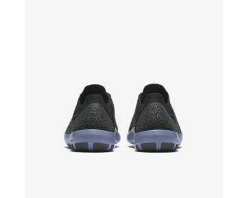 Chaussure Nike Lab Free Focus Flyknit 2 Pour Femme Fitness Et Training Noir/Bleu Ciel Foncé/Gris Foncé_NO. 902168-001
