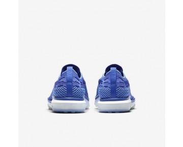 Chaussure Nike Zoom Fearless Flyknit Pour Femme Fitness Et Training Bleu Moyen/Bleu Polarisé/Blanc_NO. 850426-400