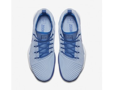 Chaussure Nike Court Air Zoom Ultra React Clay Pour Femme Tennis Bleu Glacé/Bleu Université/Blanc/Bleu Comète_NO. 903587-400