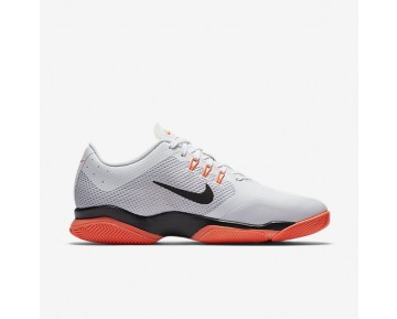 Chaussure Nike Court Air Zoom Ultra Pour Femme Tennis Blanc/Hyper Orange/Platine Pur/Noir_NO. 845046-100