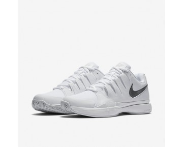 Chaussure Nike Court Zoom Vapor 9.5 Tour Pour Femme Tennis Blanc/Argent Métallique_NO. 631475-101